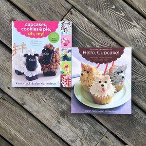 Hello, Cupcake! & Cupcakes, Cookies & Pie, oh, my! cookbooks